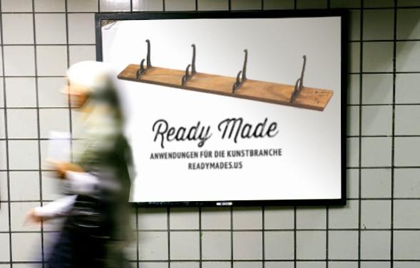 Ready Made U-Bahn Plakat