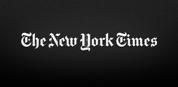The New York Times Black Letter identity
