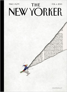 The New Yorker Titelbild von Birgit Schössow