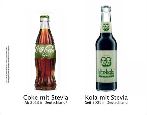 Coke vs Kola mit Stevia