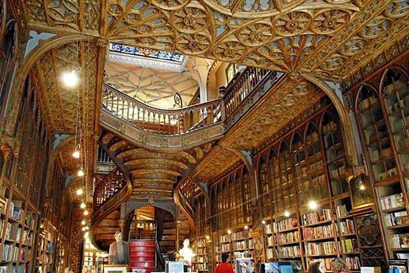 Lello Buchladen, Porto, Portugal