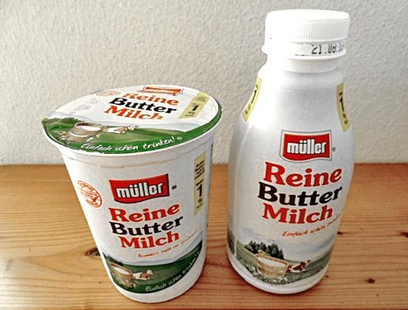 Müller Buttermilch Foto: Petra Hammerstein