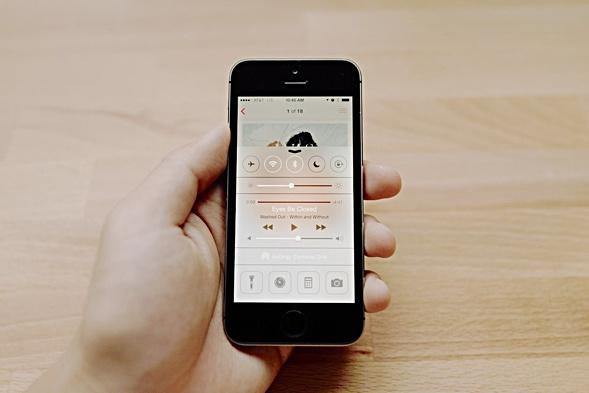 Andrew Kim on iOS7