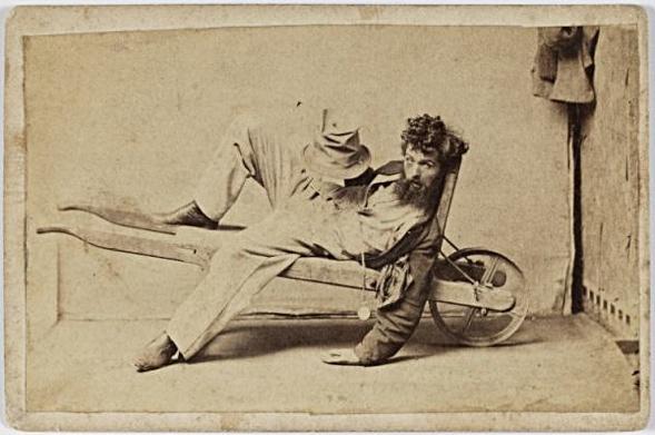 Charles Percy Pickering (1825-1908) Phase 4 der Trunkenheit.