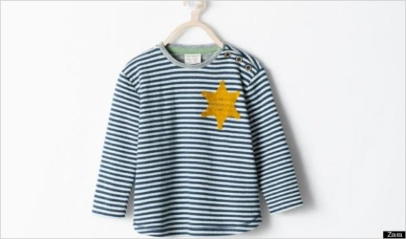 "Zaras umstrittenes ""Sheriff"" Hemd"
