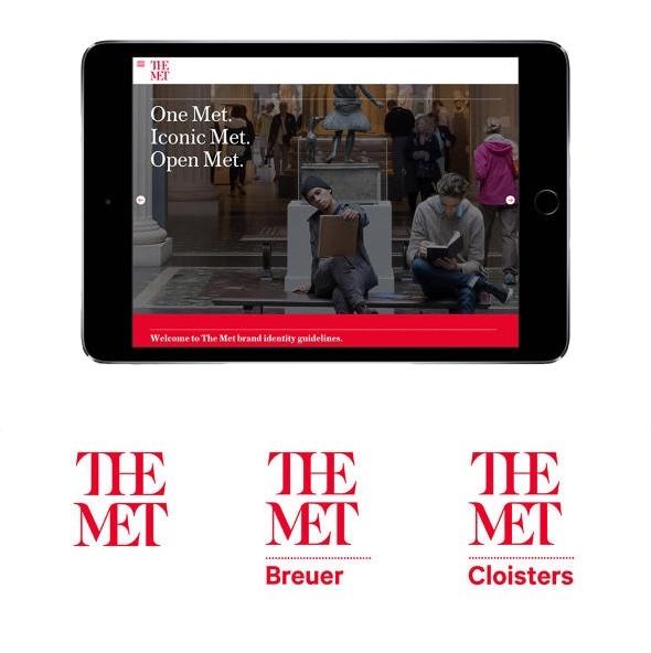 Böse Reaktionen auch für das neue Logo für das Metropolitan Museum in New York
