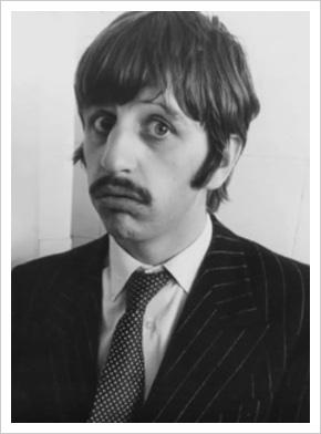 Sensation of the ordinary: Ringo Starr