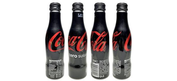 Coke Zero Aluminum Flasche
