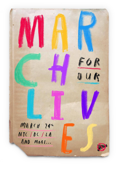 Oliver Jeffers  IG March for our lives