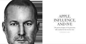Apple, Einfluss und Ive