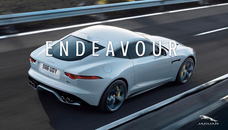 Endeavour Morse Jaguar