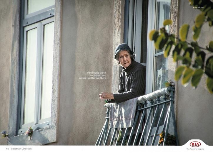 Bildschirmfoto Kia Werbung