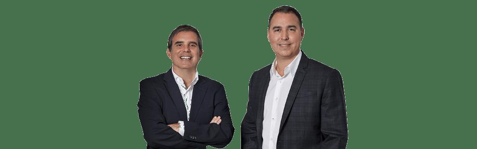 Ricky Soler CCO, Javier Tirado CEO