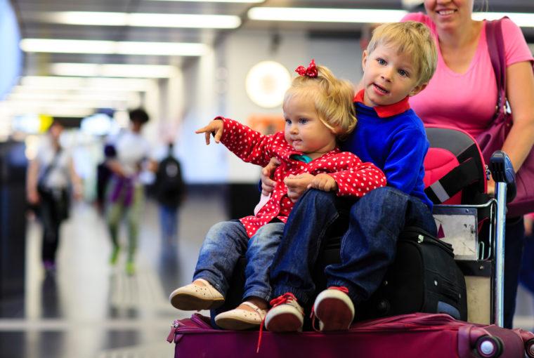 Familie skal ud at rejse