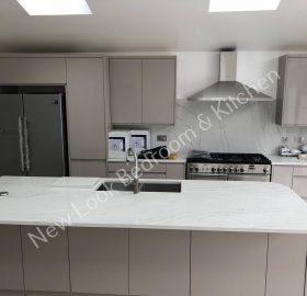 Bedroom and Kitchen in Milton Keynes