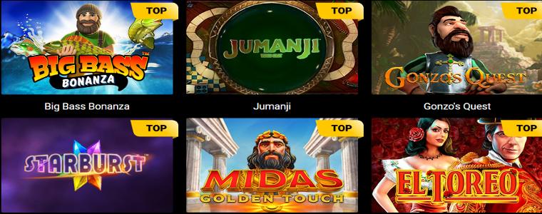 Spinamba Casino: 50 Free Spins no deposit