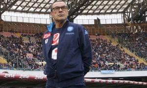 Sarri managed Napoli for three years