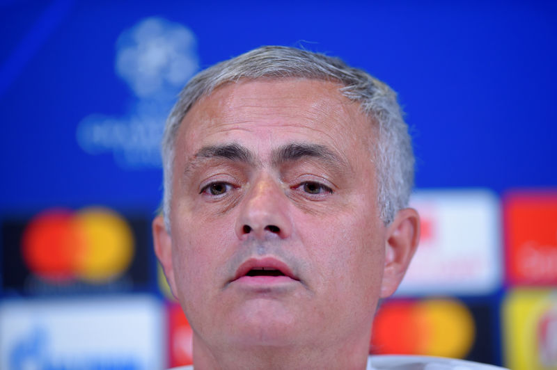© Reuters. FILE PHOTO: Champions League - Manchester United Press Conference