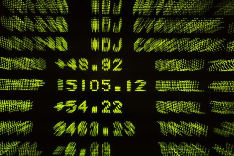 © Reuters.  U.S. shares higher at close of trade; Dow Jones Industrial Average up 0.78%