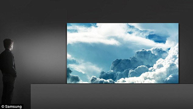 Samsung's gigantic new 146inch The Wall TV is the first to use the new technology
