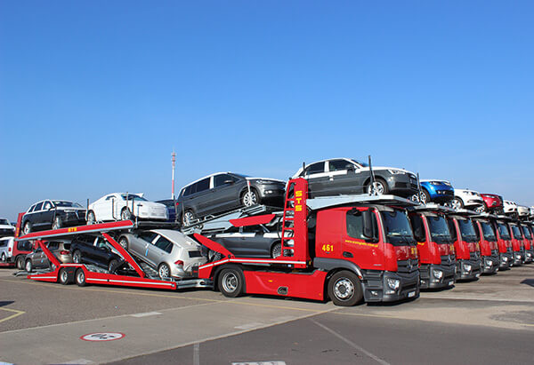 Most finished vehicles are still transported in Poland on automotive carriers
