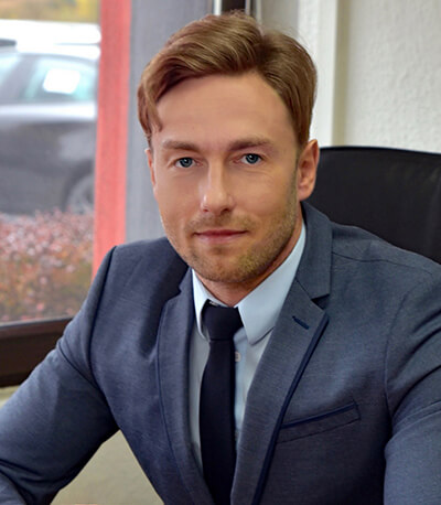 Rafał Szczesniak, Tychy branch manager, Adampol