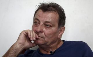 Italian ex militant Cesare Battisti