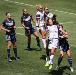 Melbourne Victory v Perth, W-League semi final