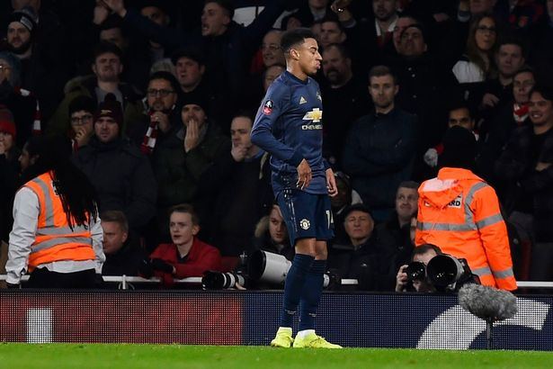 Lingard notoriously celebrated a goal in 2019 by moonwalking at the Emirates