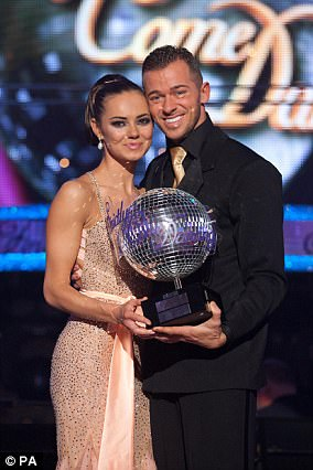 Over:Unfortunately for Kara Tointon and Artem Chigvintsev their relationship didn't manage to go the distance