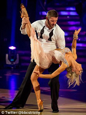 Scandal:Kristina Rihanoff was recently forced to defend her romance with Strictly partner Ben Cohen