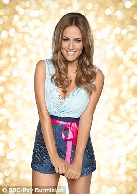 The price of success:Caroline Flack broke up with her boyfriend of a year and a half, Jack Street, after making her way into the Strictly Come Dancing semi-final