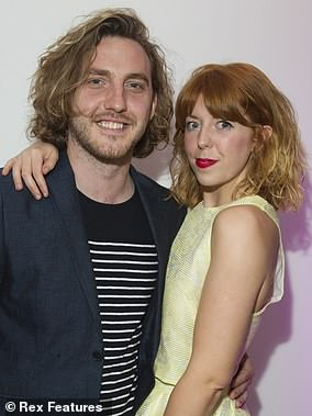 Dumped: Neil and Katya's break-up comes 10 months after her kiss with Seann (pictured with ex-girlfriend Rebecca Humphries)