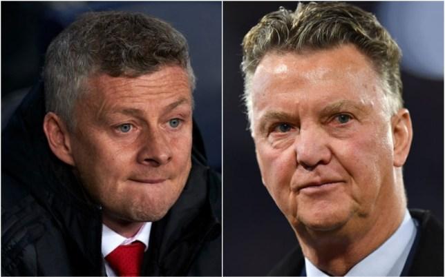 Louis van Gaal has slammed Ole Gunnar Solskjaer's tactics at Manchester United