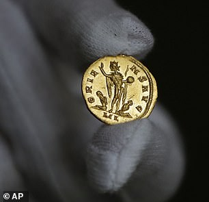 It was purchased by an enthusiast, also unnamed, and is worth far more now than it was when it was minted 1,700 years ago