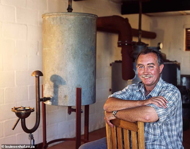 Stefan Smit, 62, (pictured) had been openly critical of the threat of land grabs on his property