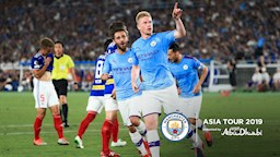 PEAK CONDITION: Kevin De Bruyne impressed during our tour of Asia.