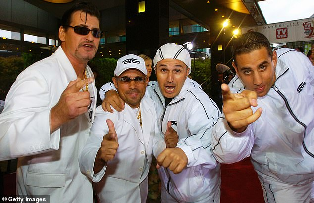 Following six seasons and two feature films, Fat Pizza: Back In Business will feature a handful of characters established in Housos, A spin-off of the series that ran on SBS between 2011 and 2013 (Pictured: Cast members from Fat Pizza attend Logie Awards on April 18, 2004)