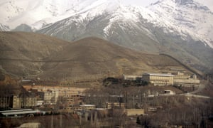 Evin prison in Tehran, where Kameel Ahmady is thought to be held by authorities in Iran.