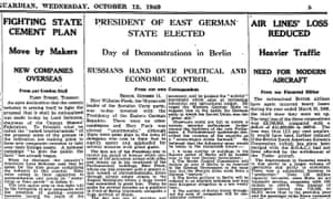 The Guardian, 12 October 1949.