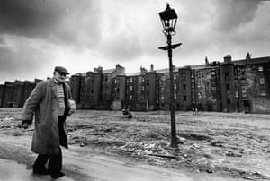 Tenements in the Gorbals, Glasgow, in 1968.