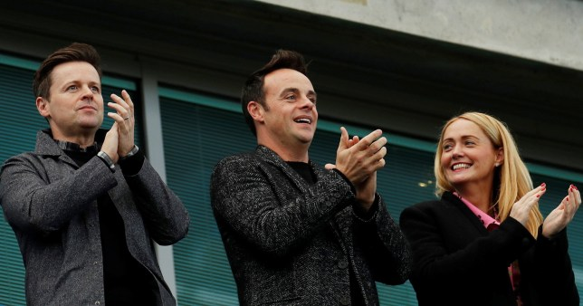Ant Mcpartlin And Girlfriend Anne Marie Corbett Joined By Dec To Watch Football Match Newscabal