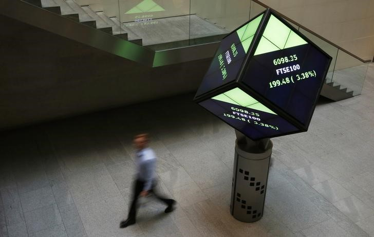 U.K. shares higher at close of trade; Investing.com United Kingdom 100 up 0.91%