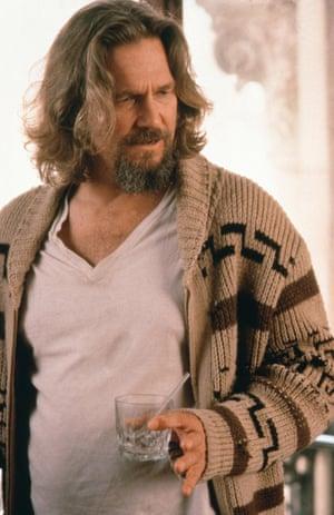 "Jeff Bridges as Jeffrey ""the Dude"" Lebowski"
