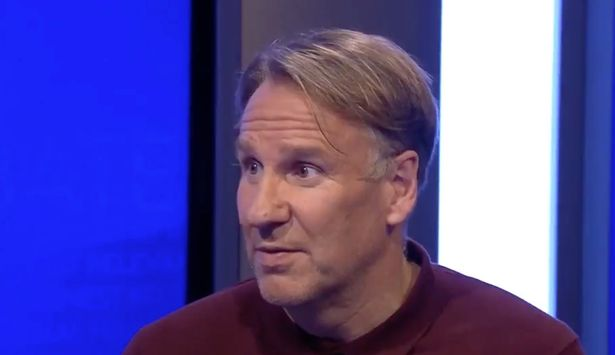 Merson questioned why the Arsenal captain was on the bench for the first leg with Slavia Prague