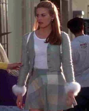 Alicia Silverstone as Cher Horowitz in Clueless.