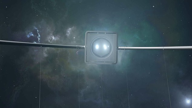 The bursts were first detected by space based telescopes, as seen in this artist impression, that then alerted astronomers on Earth who were able to point their telescopes in the right direction