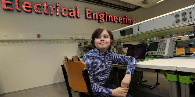 Laurent Simons, age 9, was pulled out ofEindhoven University of Technology by his parents after the school wouldn't allow him to graduate before he turned 10.