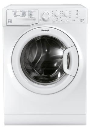 A Whirlpool's Hotpoint washing machine model