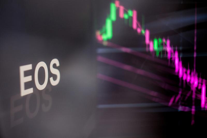 EOS Falls 10.24% In Selloff
